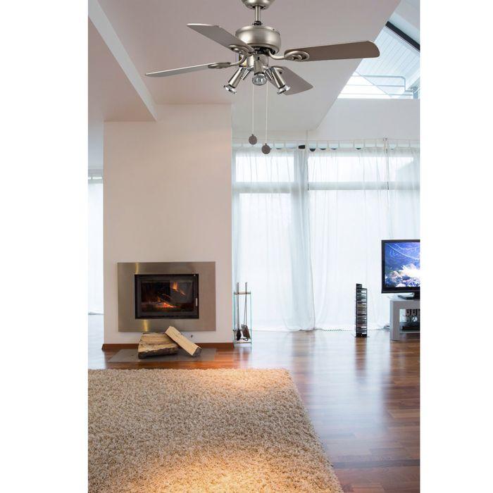Ventilateur De Plafond Destratificateur Silencieux